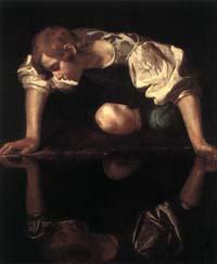 [Caravaggio's Narcissus]